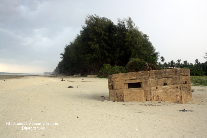 There used to be a large number of pill boxes along the state's coastline, but many have succumbed to the forces of nature and erosion.