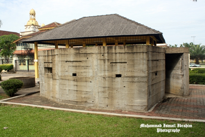 A replica of the pill box can be seen at the War Museum in Kota Bharu.